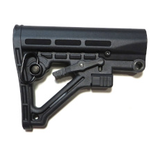 AR15/M4 Tactical Butt Stock, Mil Spec Black #JY2023