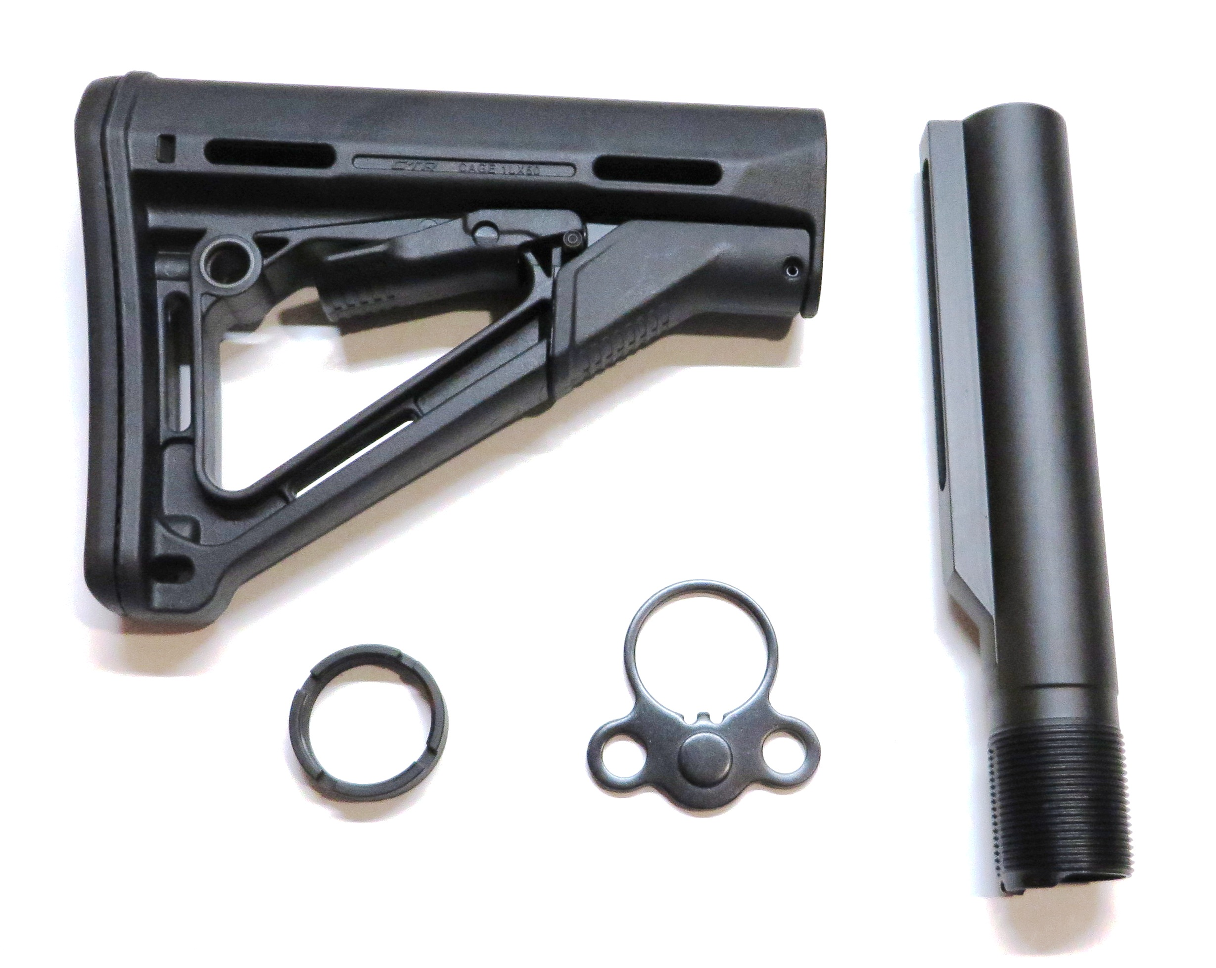 Magpul CTR Stock Assembly (Mil-Spec) Black #MP2002A